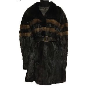 Kaufman Furs Ranch Mink 3/4 length